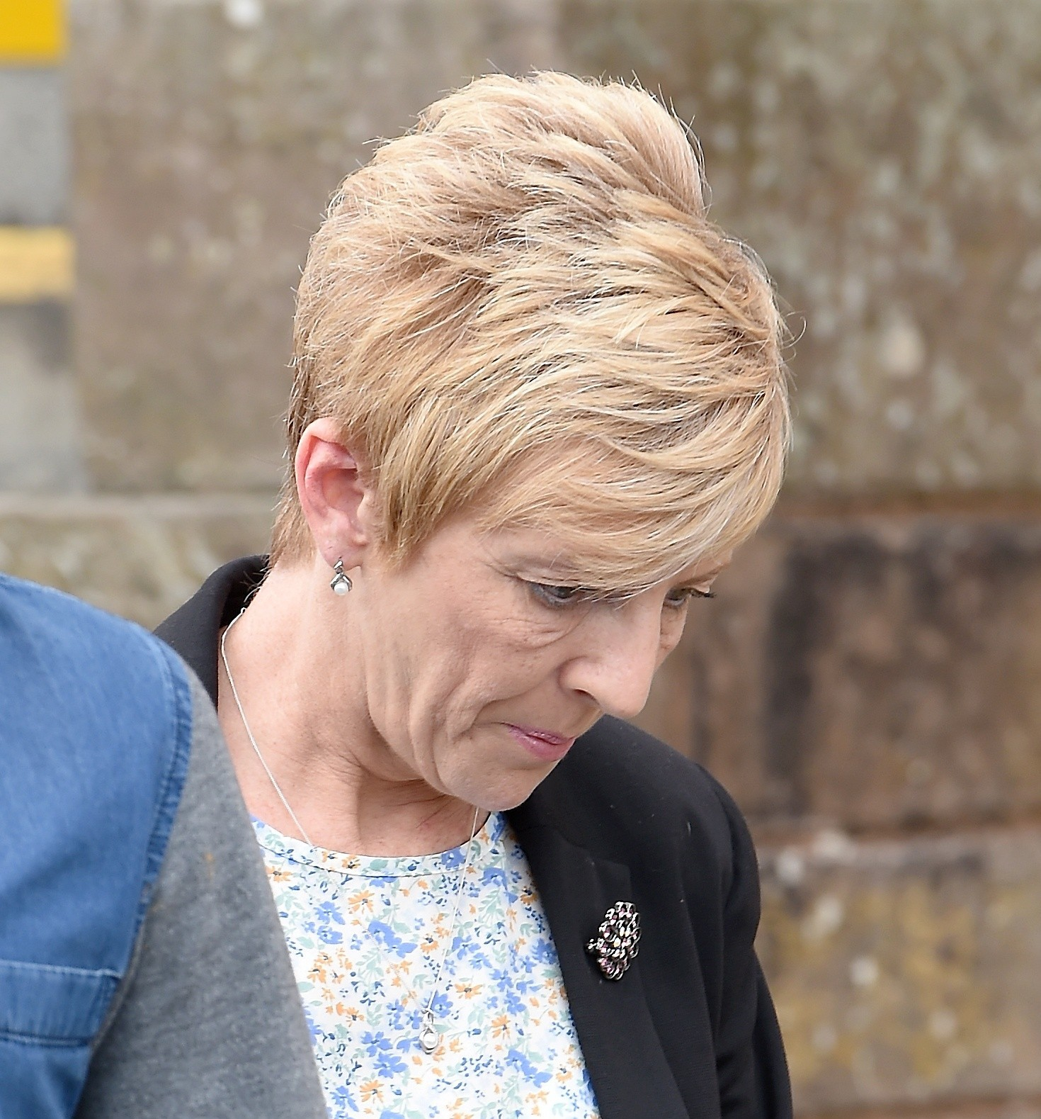 Embezeller Patricia McDonald leaves Inverness Sheriff Court