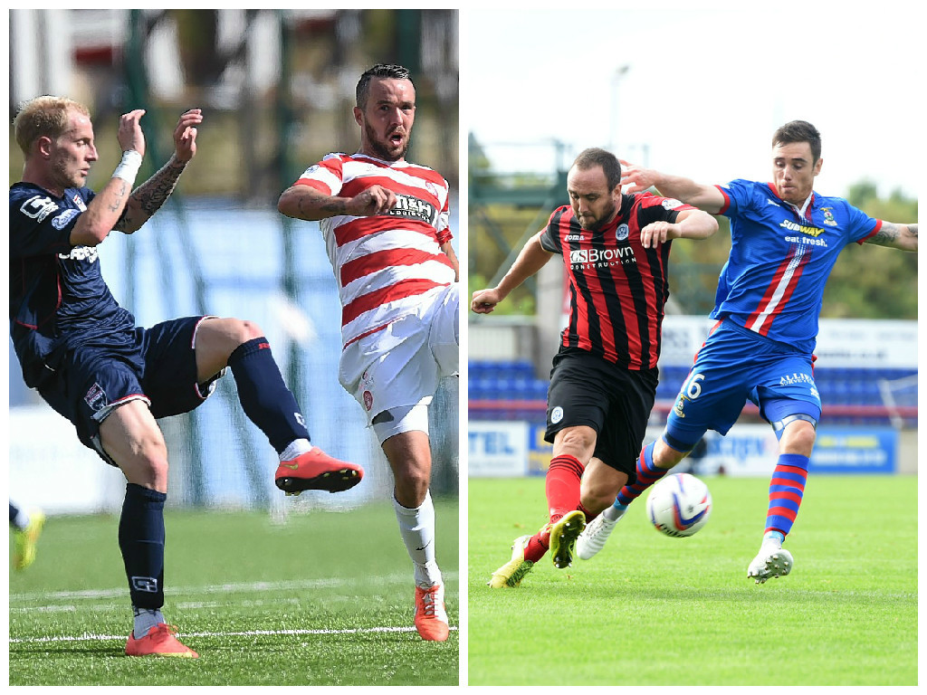 Ross County take on Hamilton and Caley Thistle face St Johnstone this afternoon