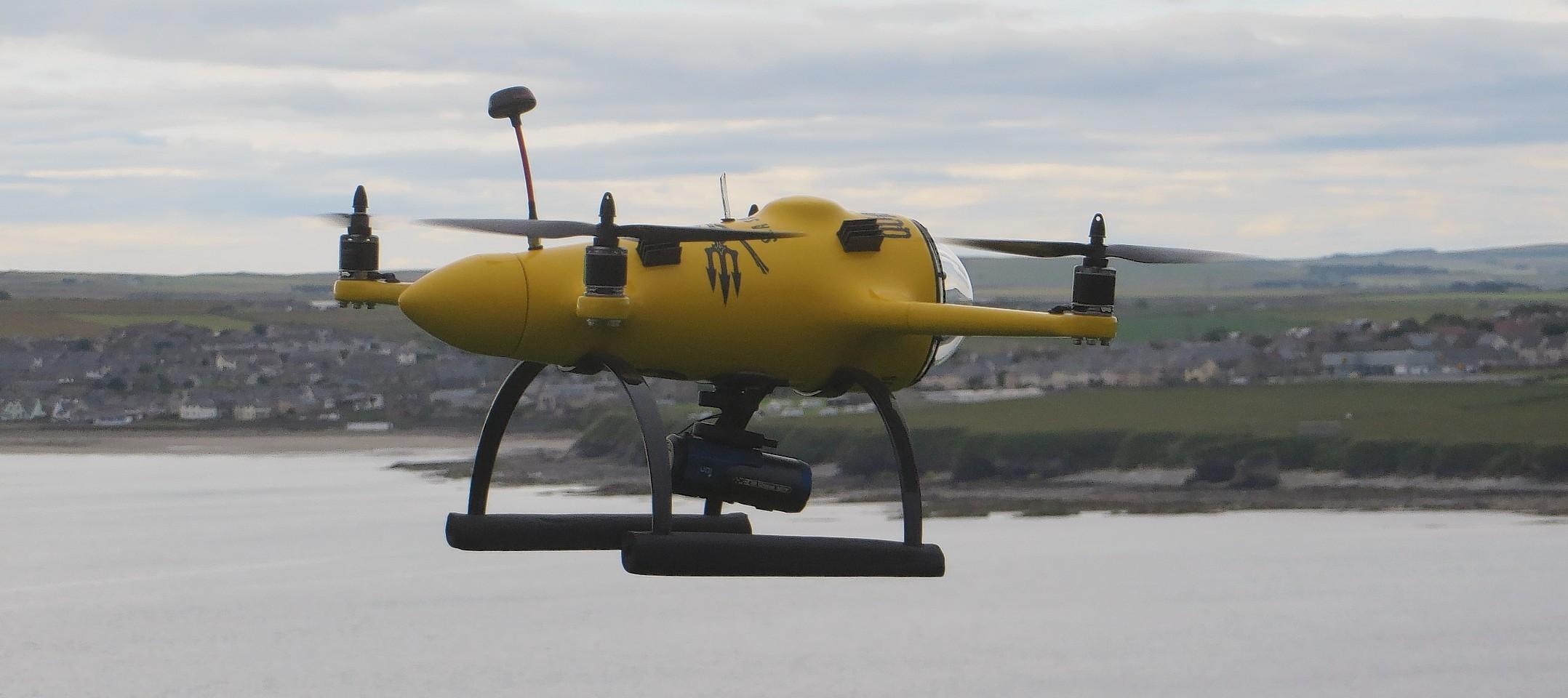 Sea Shepherd drone