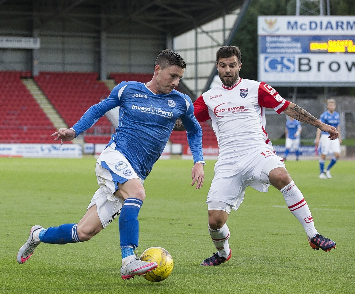 St Johnstone and Ross County are both looking to finish fourth.