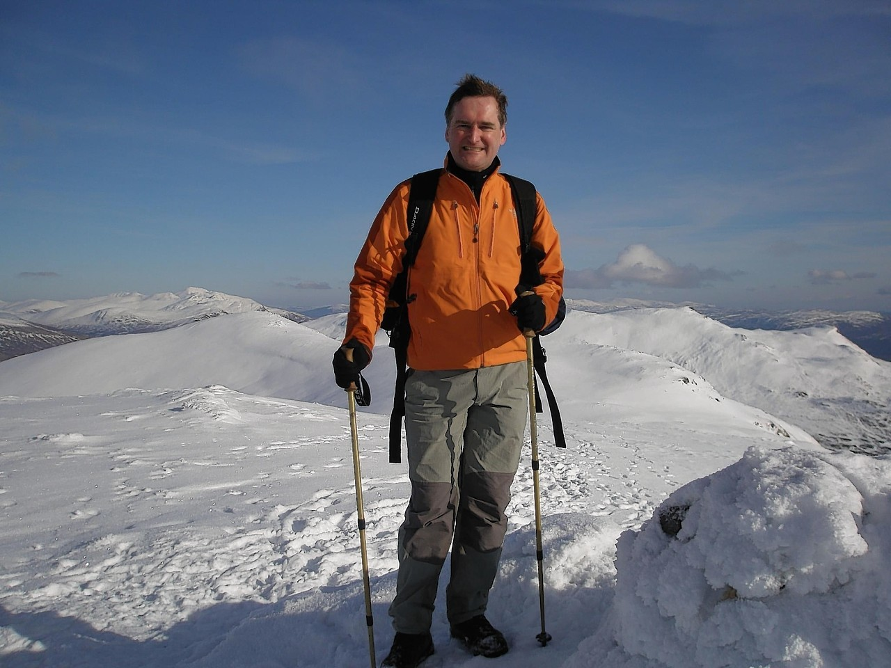 Steven Fogg, of Dess, Near Aboyne, died following the fall near Ben Nevis