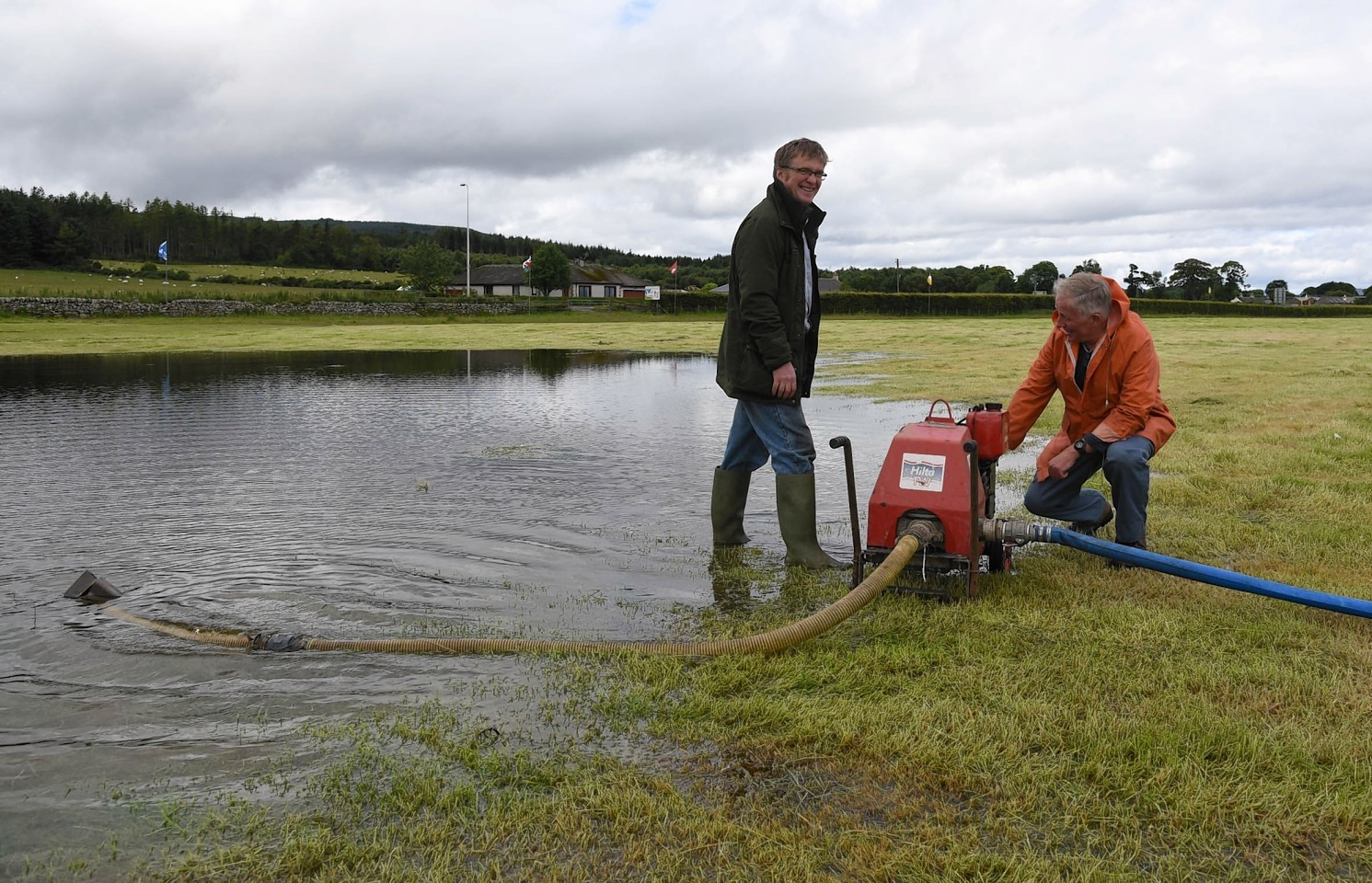 Hopes high that Tain games will survive flooding   Press ...