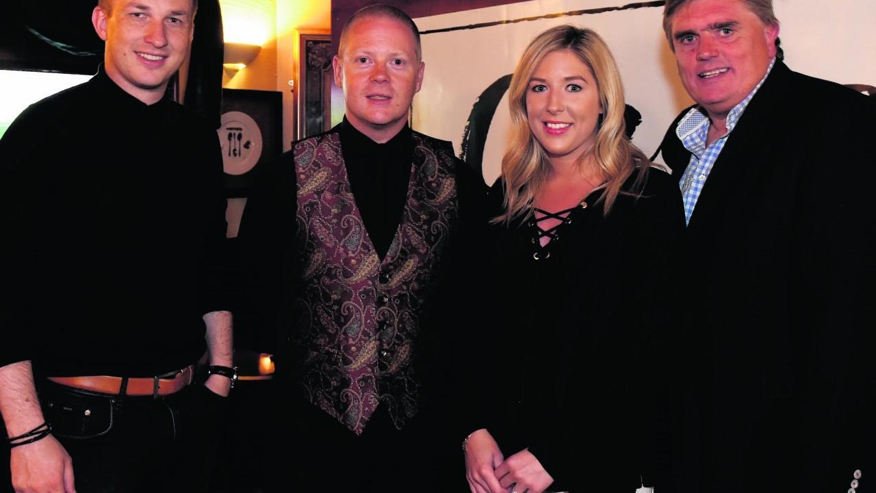 Darren McRae, Alan Aitken, Jillian Sheran and Allan Henderson.