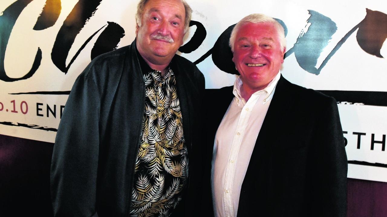 Norman Cox and Ian Buchan.