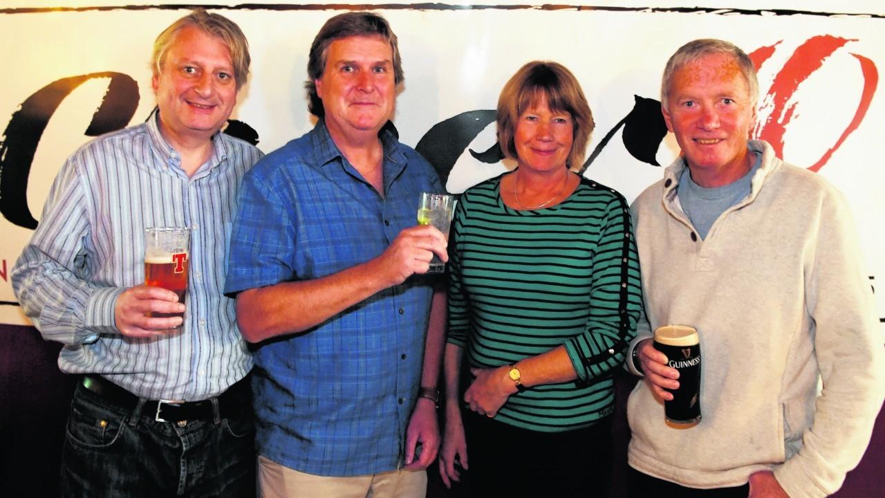 Harry Macklin, Andy Scott, Heather Auld and Ian Munn.