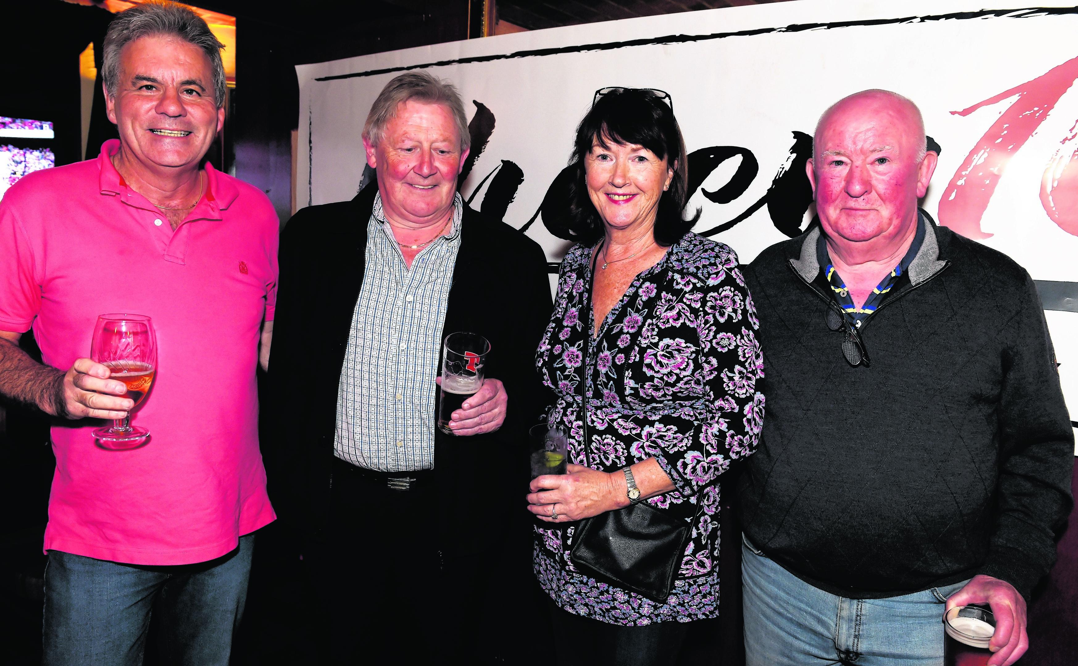 Gordon Wilson, Mike Graham, Rhona Jarvis and David Davidson.