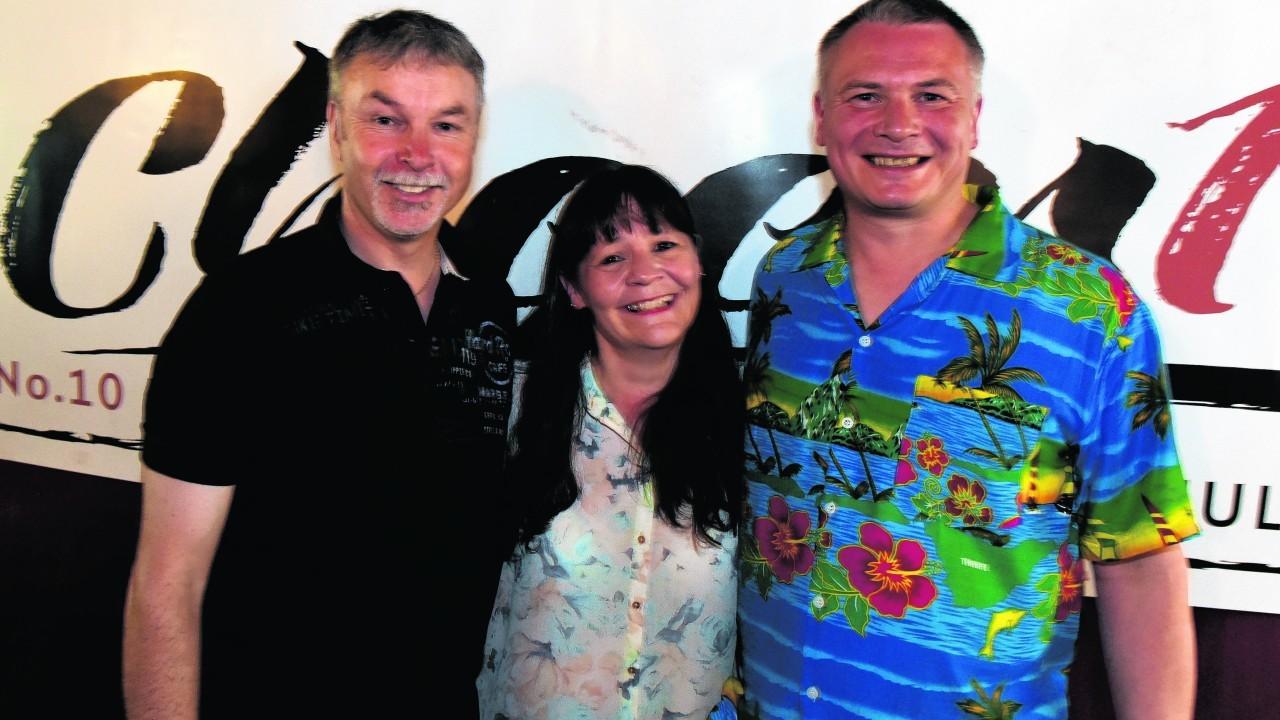 Ian Low, Doreen Elphinstone and Hugh Mathieson.