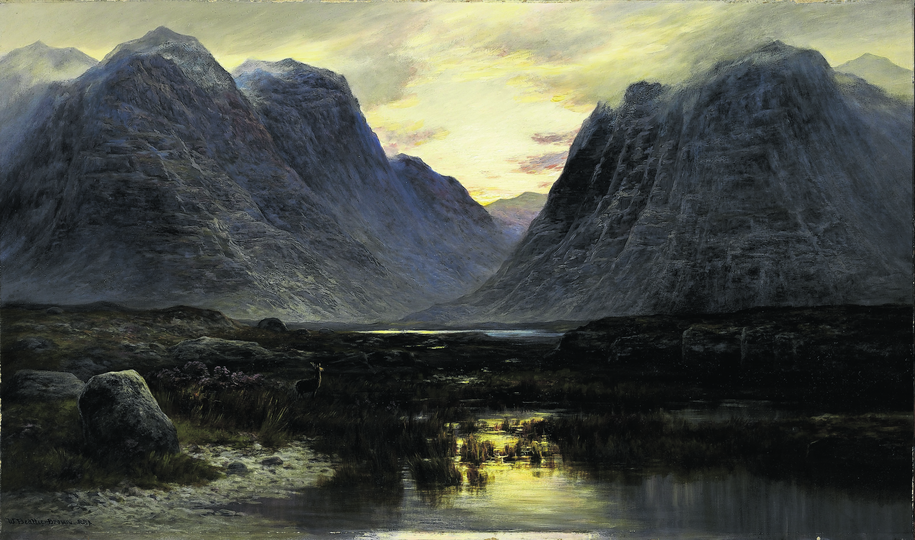William Beattie Brown, Coire-na-Faireamh. Photo: Royal Scottish Academy Collections