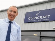 Picture from the new Glencraft Factory on Whitemyers Avenue , Mastrick. Graham McWilliam the General Manager Pic by Chris Sumner Taken 3/4/15