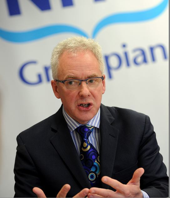NHS Grampian chief executive Malcolm Wright