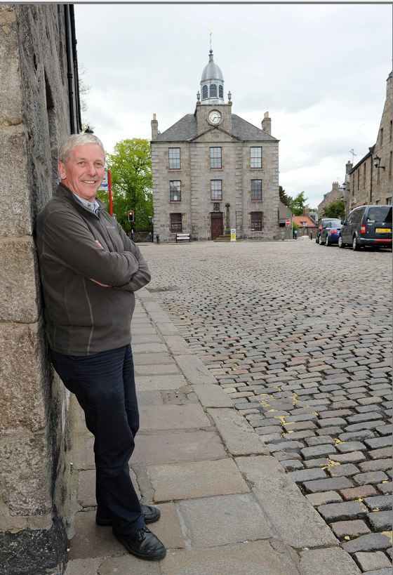Gordon Mutch of Old Aberdeen Community Council would like to see a limit on HMOs