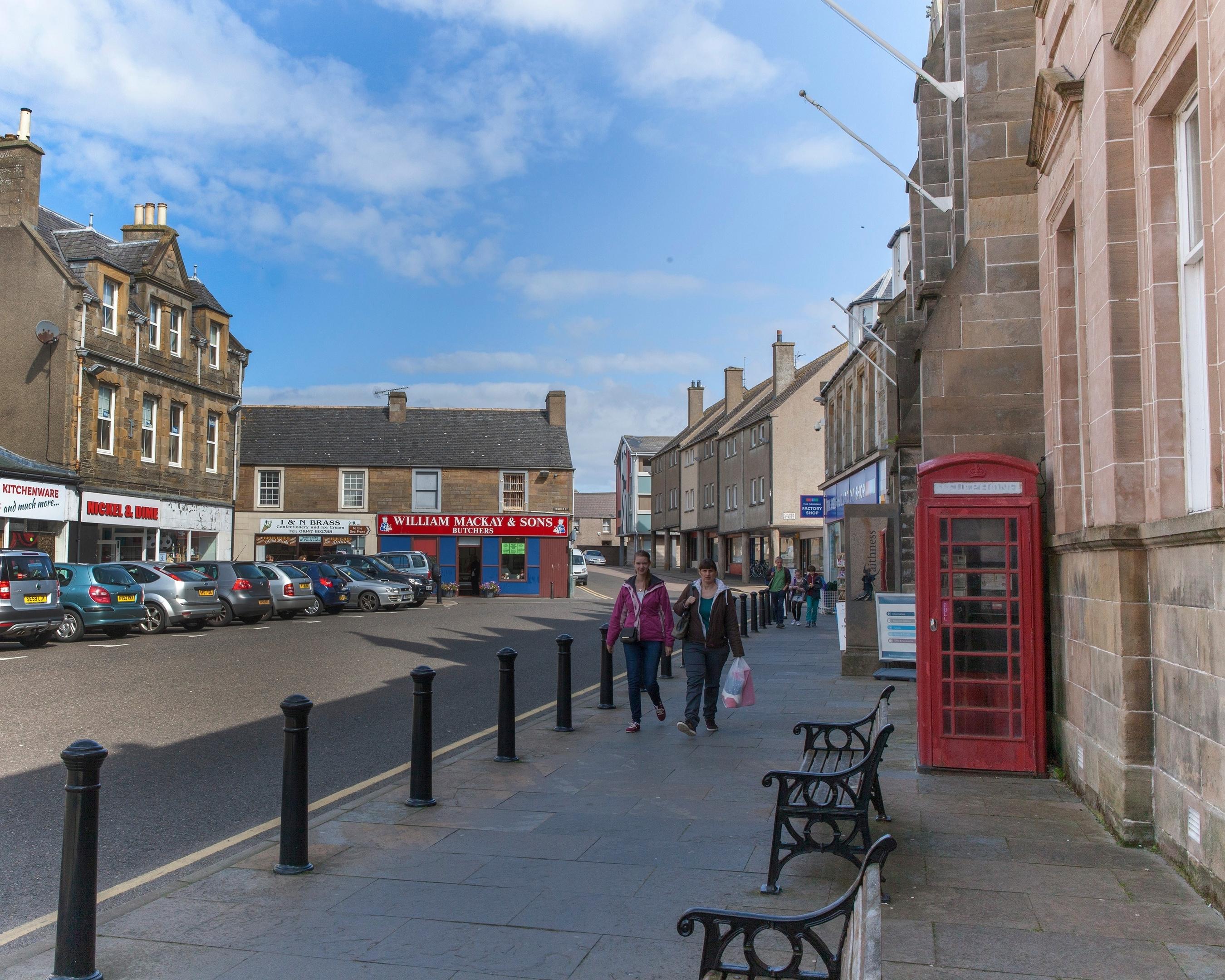 Thurso town centre.