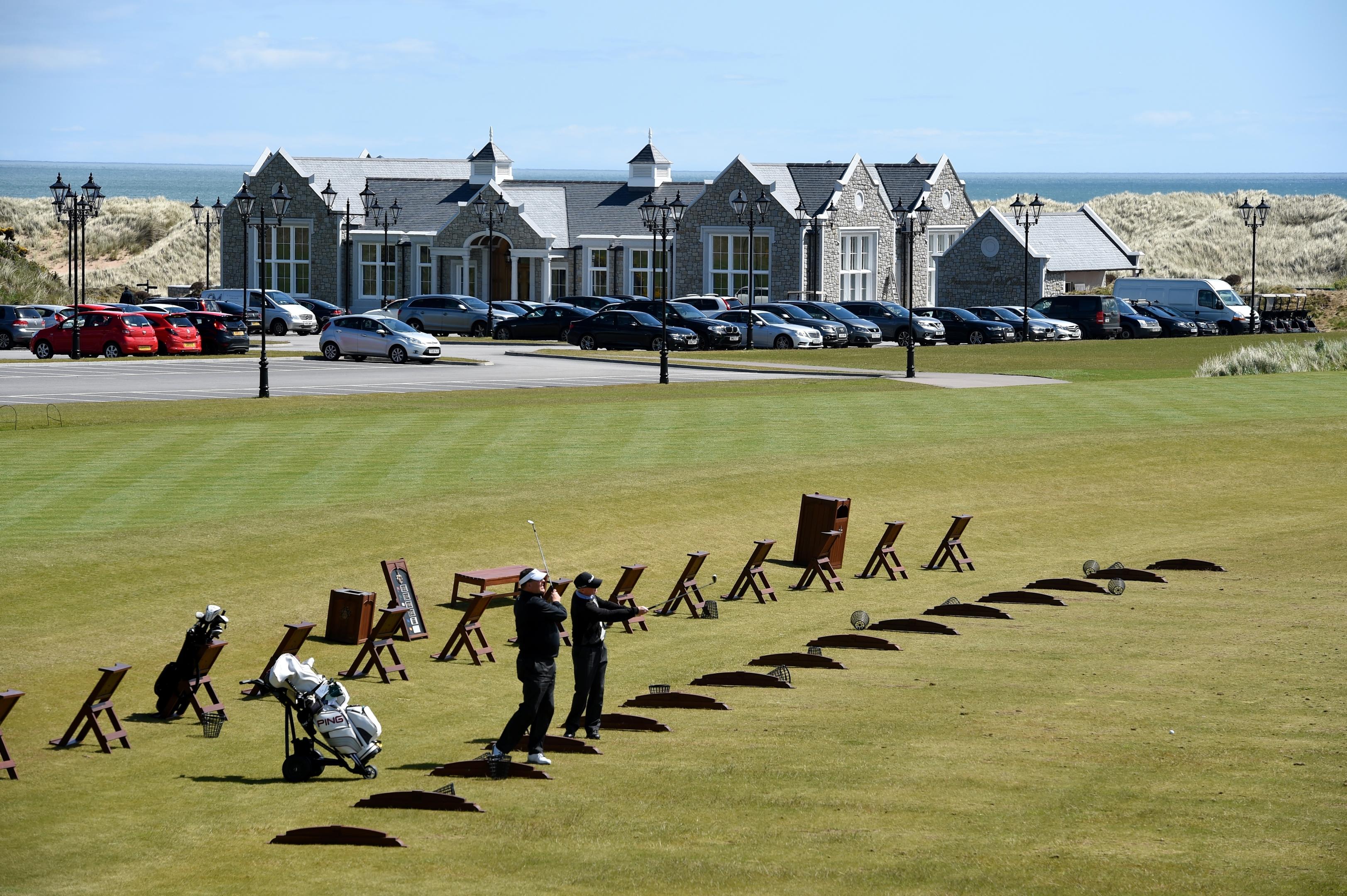 Trump International Golf Links, Aberdeenshire.