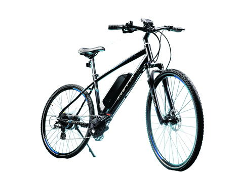 Electric bikes bridge the gap between bicycles and mopeds