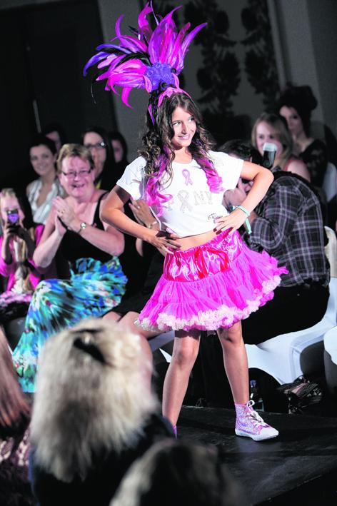 Katie Simpson, winner of Miss Year Junior