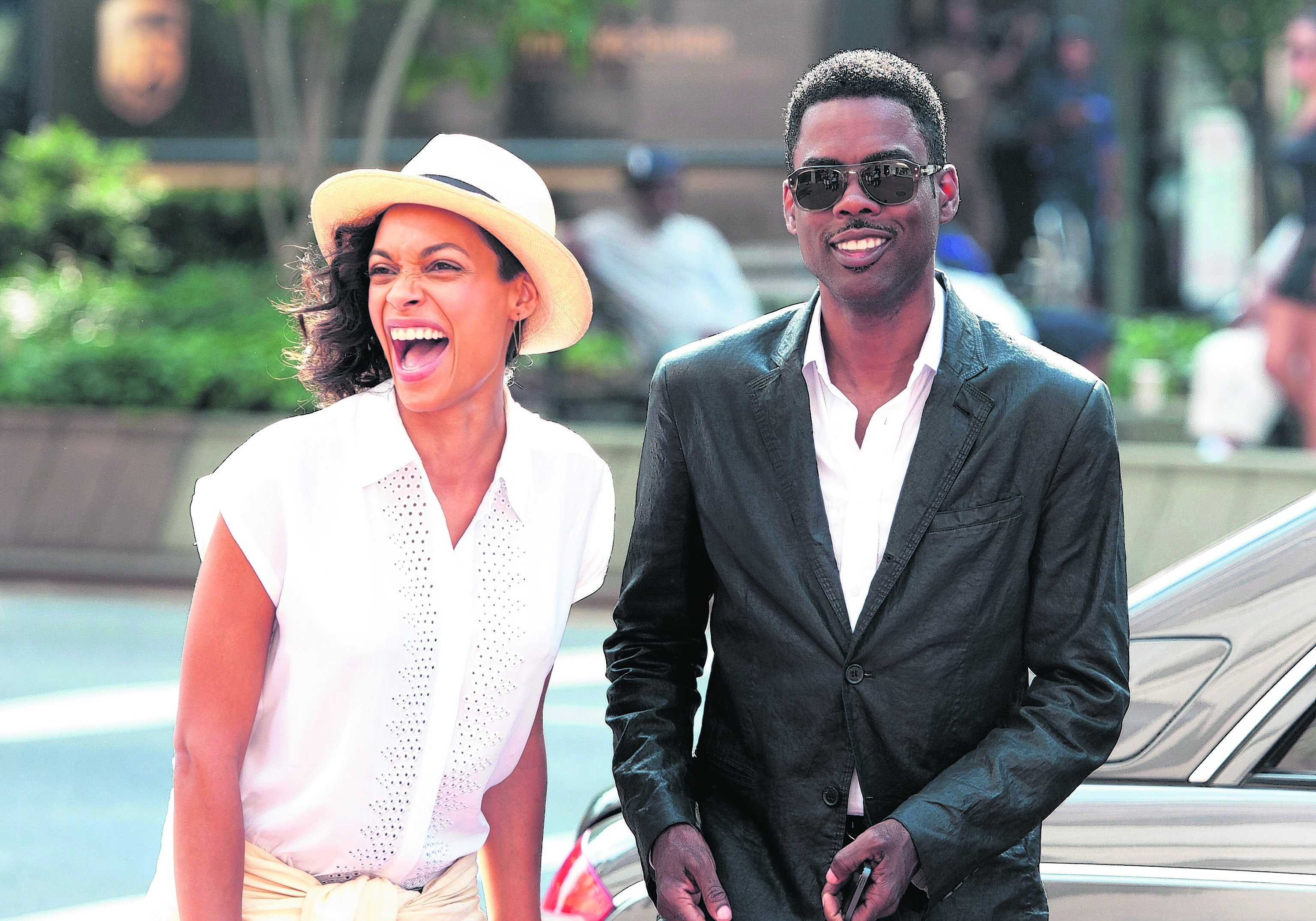 Chris Rock and Rosario Dawson star in Top Five