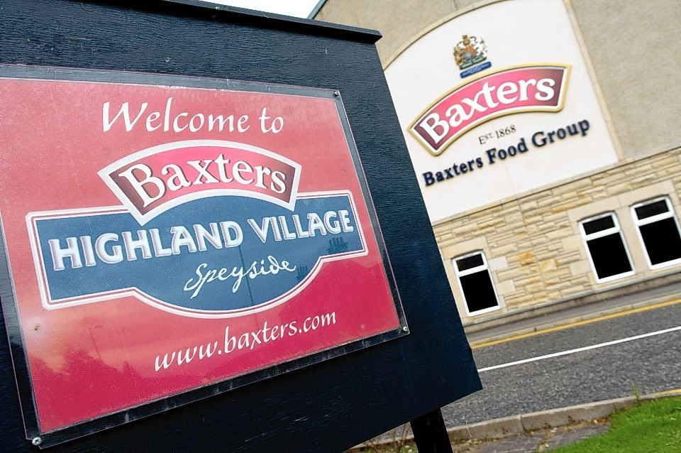 Baxters was ranked 34th in a league table of 200 UK companies with the fastest-growing international sales.
