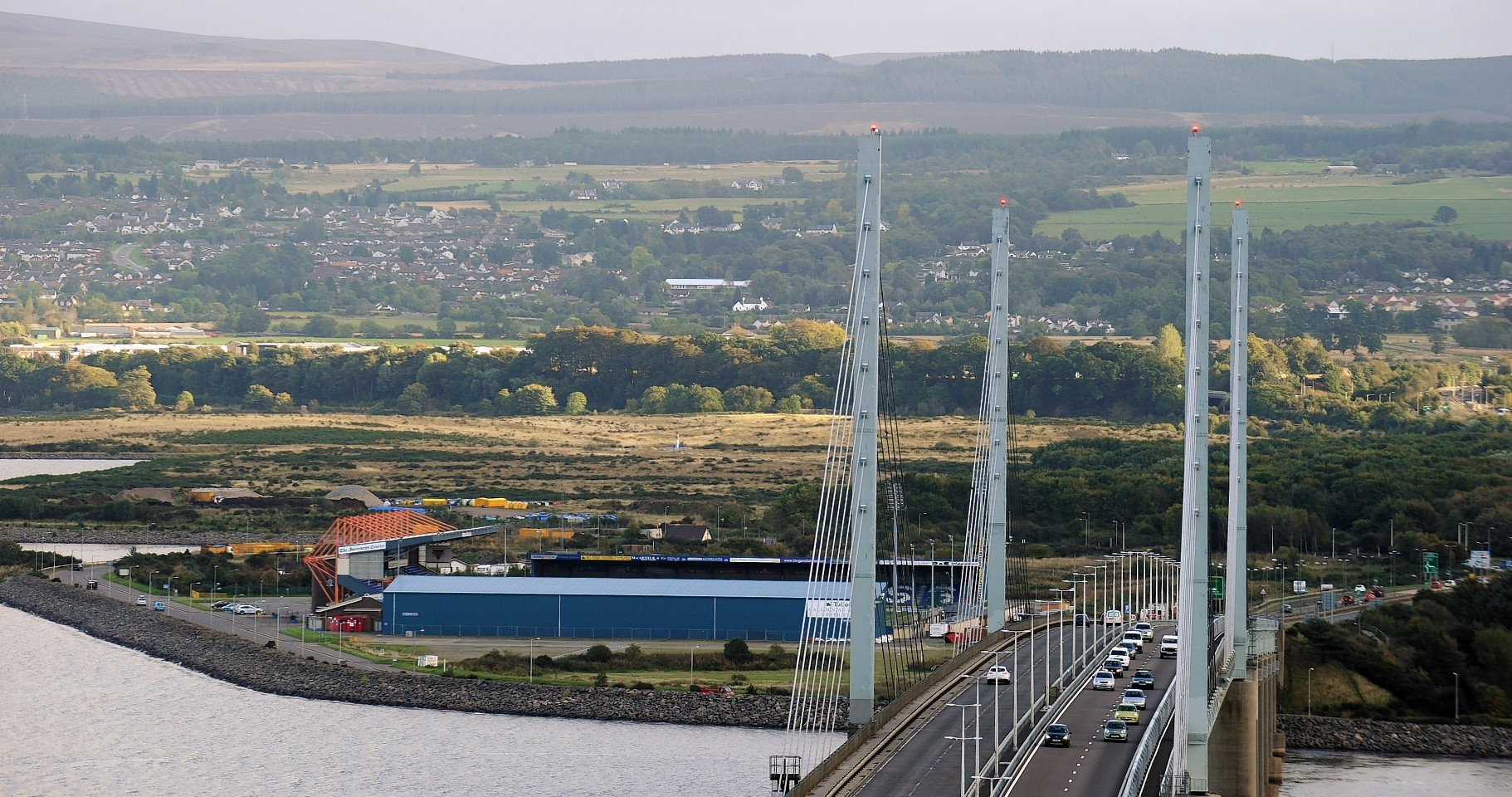 Kessock Bridge at Inverness.