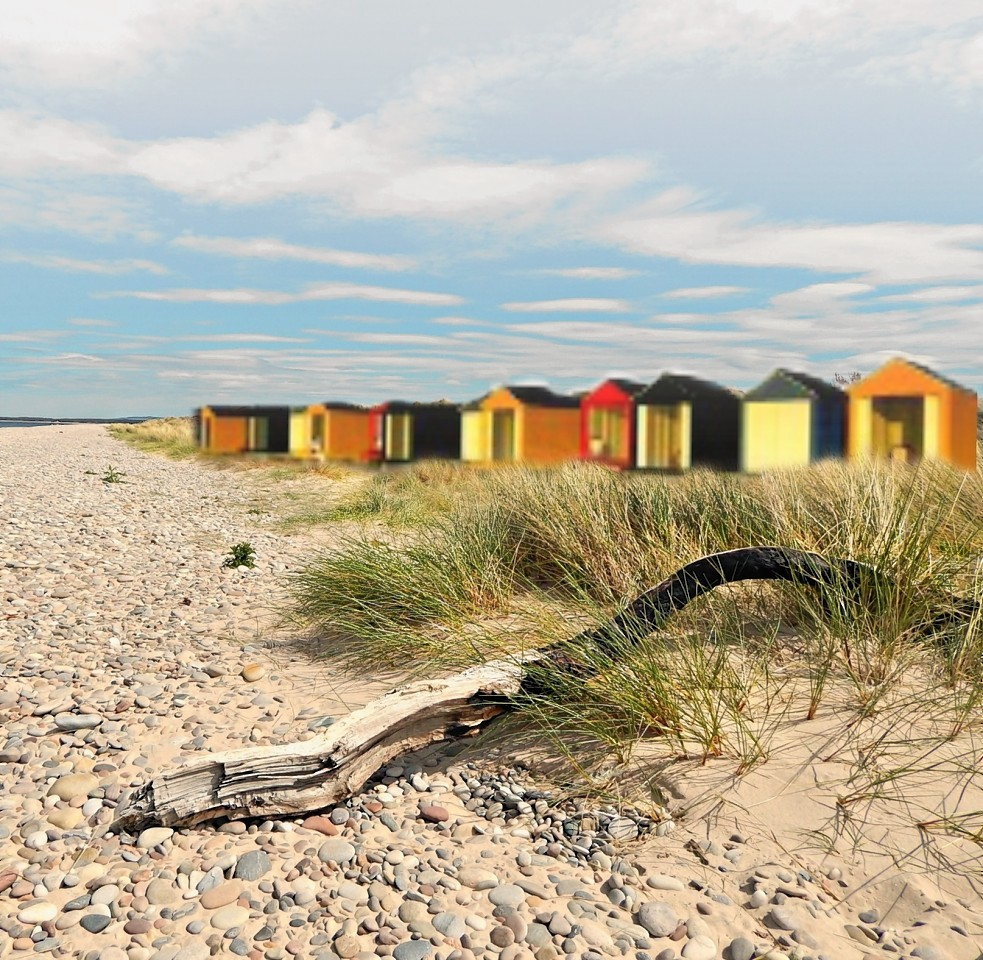 Beach Huts Moray