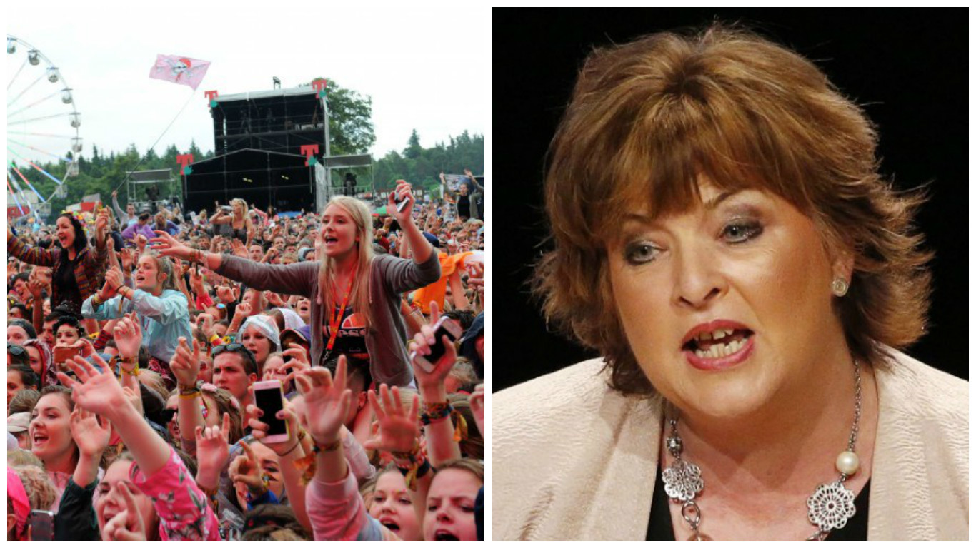 Fiona Hyslop has been called to answer questions about a £150,000 grant to T in the Park