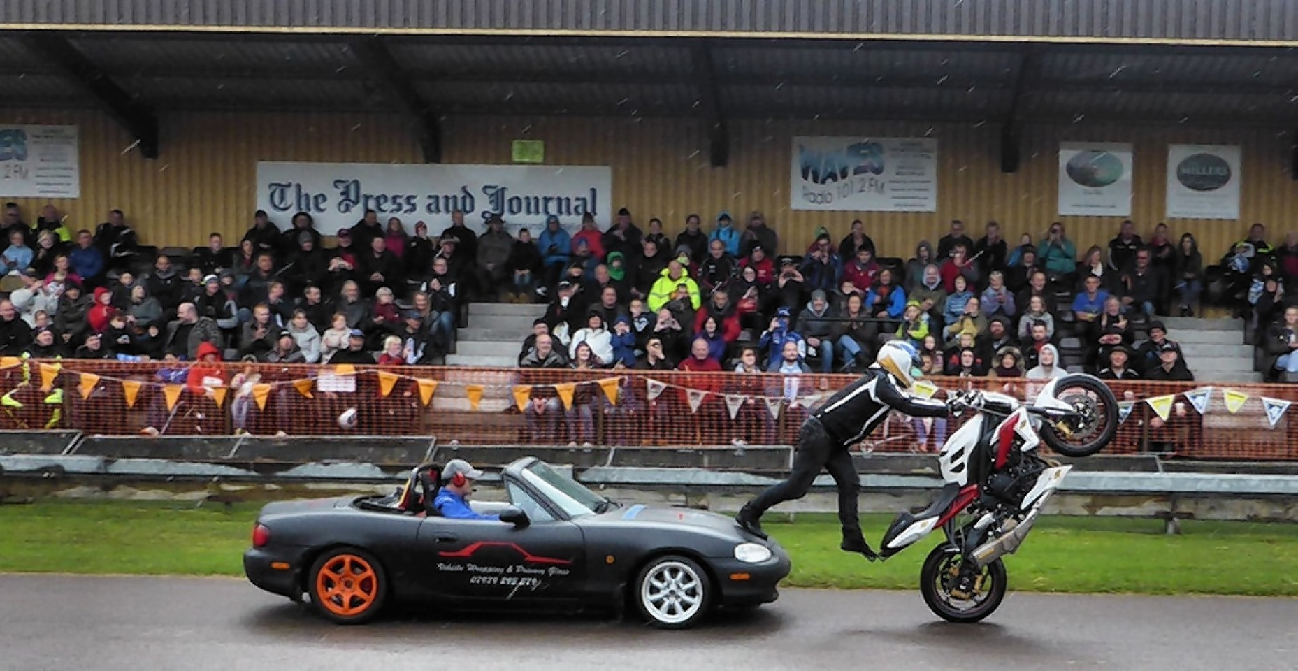 The Grampian Motorcycle Convention is one of the biggest in the UK