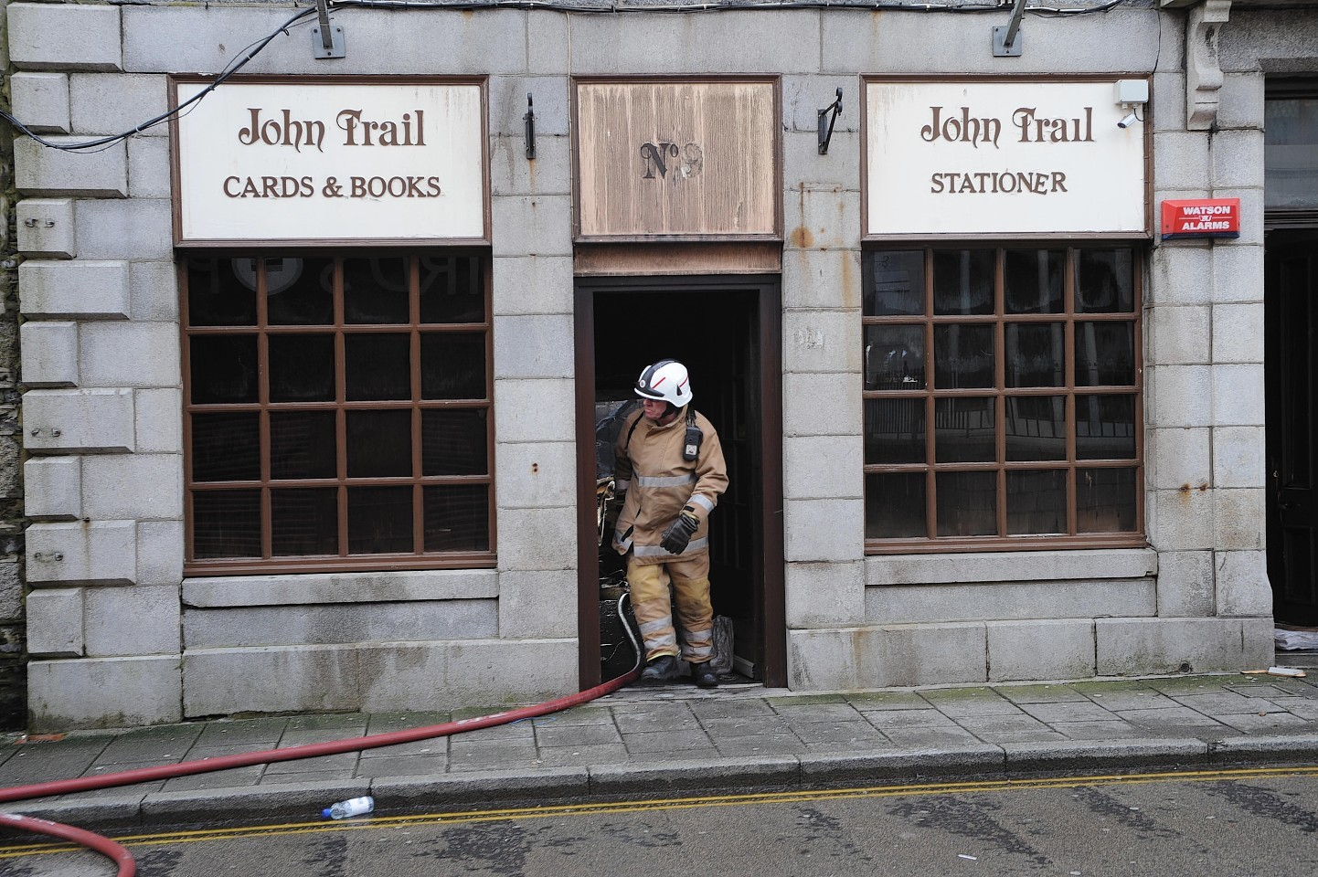 John Trail bookshop in Fraserburgh  could be transformed into a lodging for 10 people.