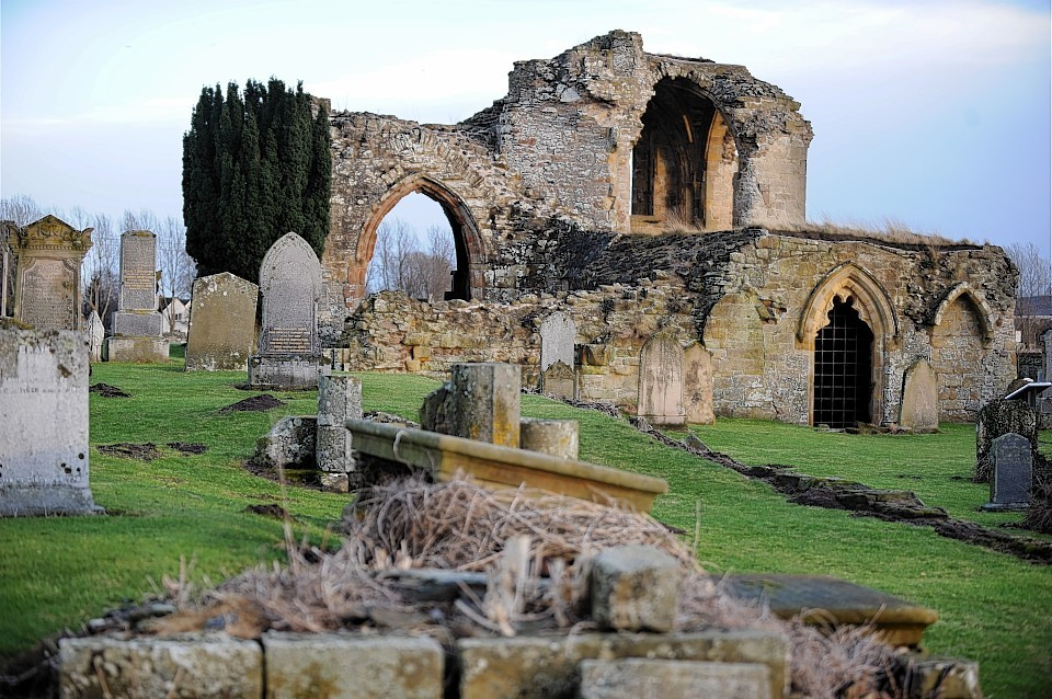 Kinloss Abbey. Picture by Gordon Lennox