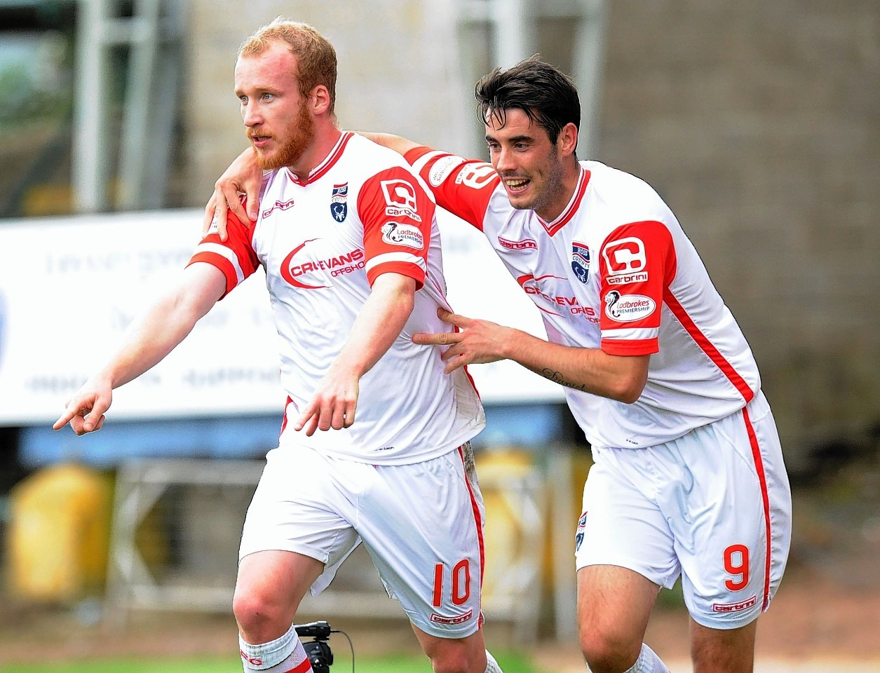 Ross County forwards Liam Boyce and Brian Graham have been in impressive form