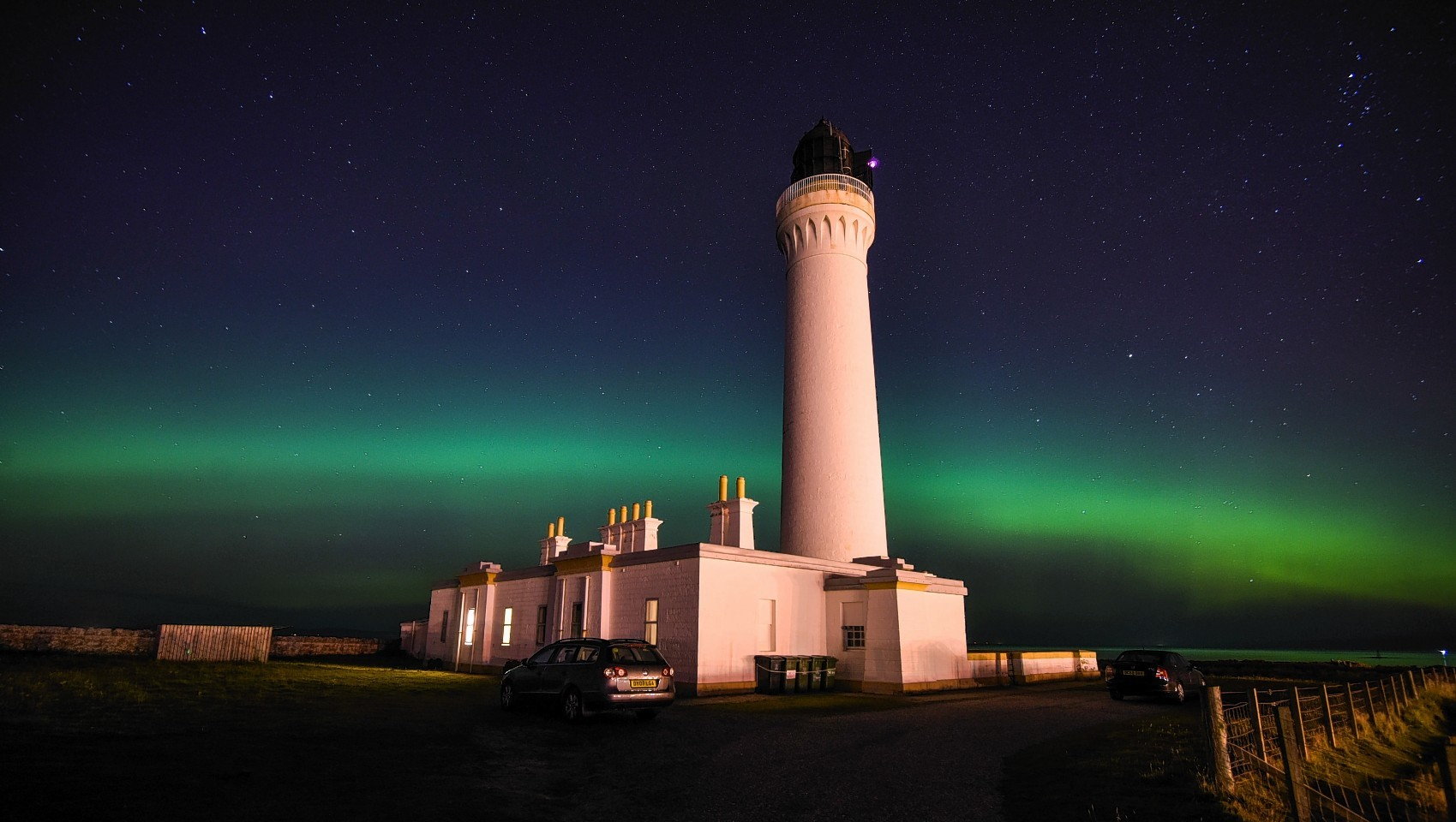 Covesea Lighthouse near Lossiemouth, Moray