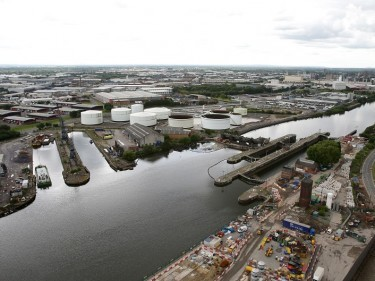 Salford Quays will be the backdrop to the launch