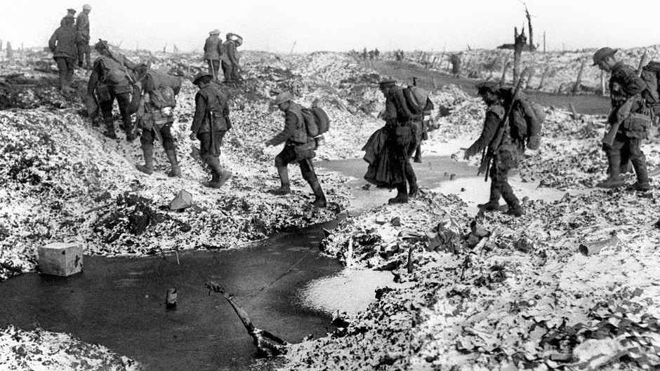 A 6,000 mile trip by researchers to explore 'no man's lands' marks the centenary of the First World War
