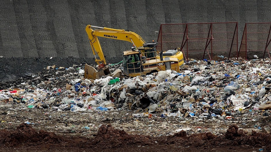 Waste is a mounting crisis in Aberdeenshire.