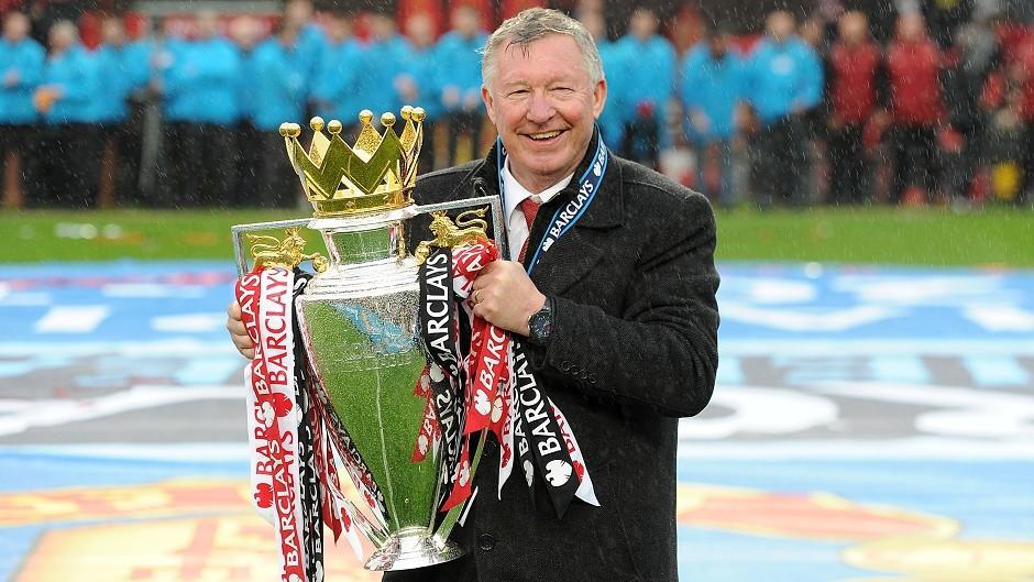 Sir Alex Ferguson won his final Premier League title with Manchester United in 2013.