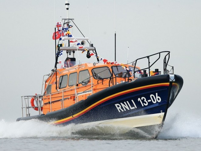 Buckie Lifeboat has been launched as a precautionary measure