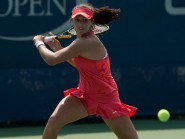 Laura Robson lost in the first round of the US Open