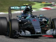 Nico Rosberg will start Sunday's Japanese Grand Prix from pole position