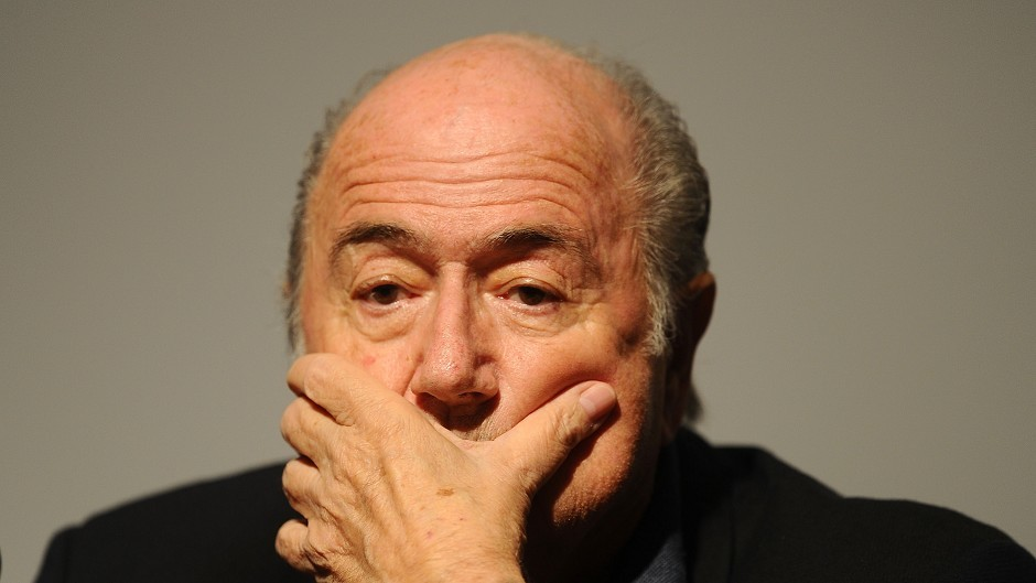 A FIFA press conference with Sepp Blatter was called off at the last minute this afternoon