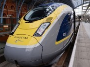 Eurostar said trespassers were on the tracks at Calais and Channel tunnel services were suspended