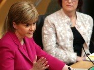Nicola Sturgeon will hold talks in Edinburgh with the Scottish Refugee Council and others