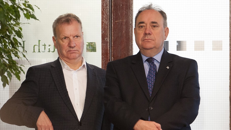 Alex Salmond and Pete Wishart