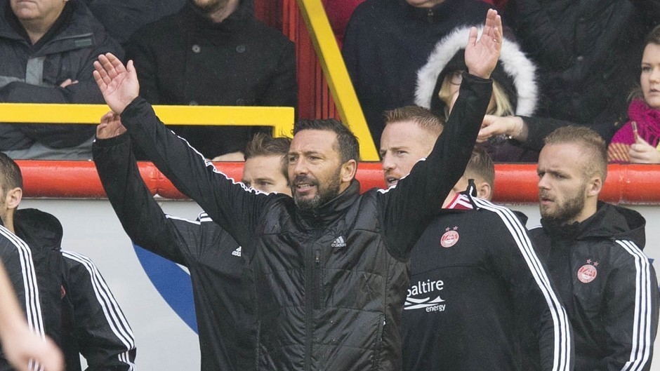 Aberdeen boss McInnes is manager of the month for September
