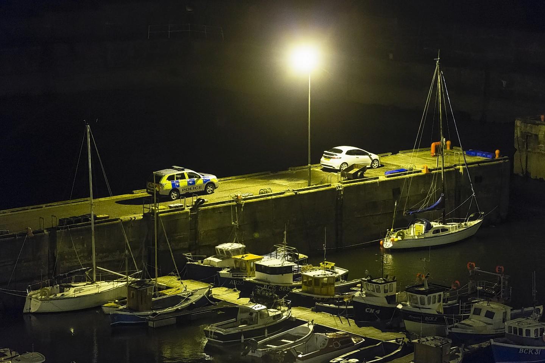 Portknockie Harbour.