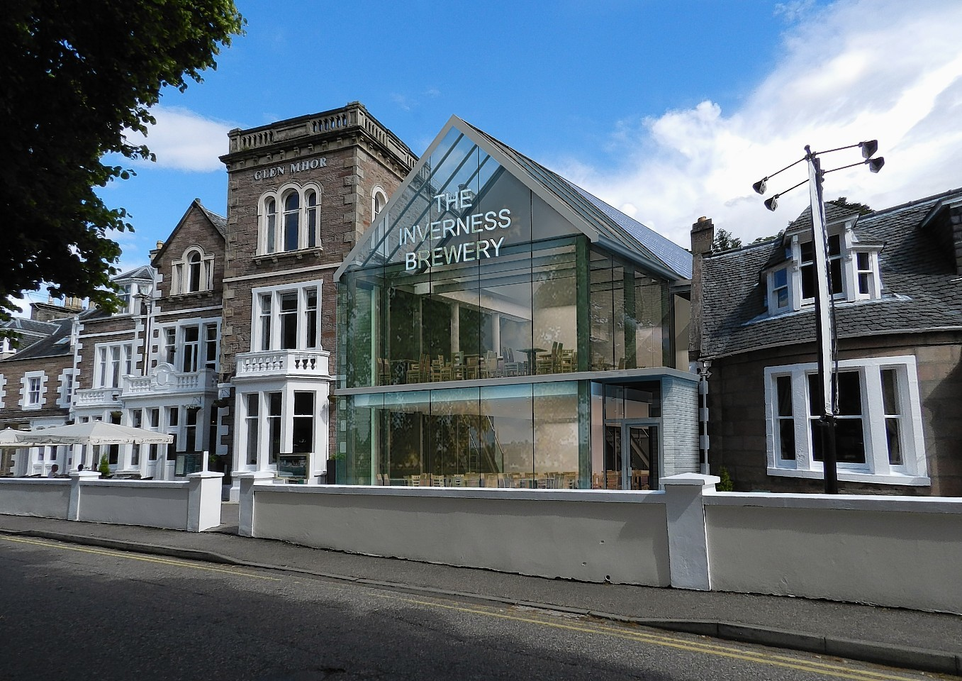Artist impression of the new Inverness Brewery