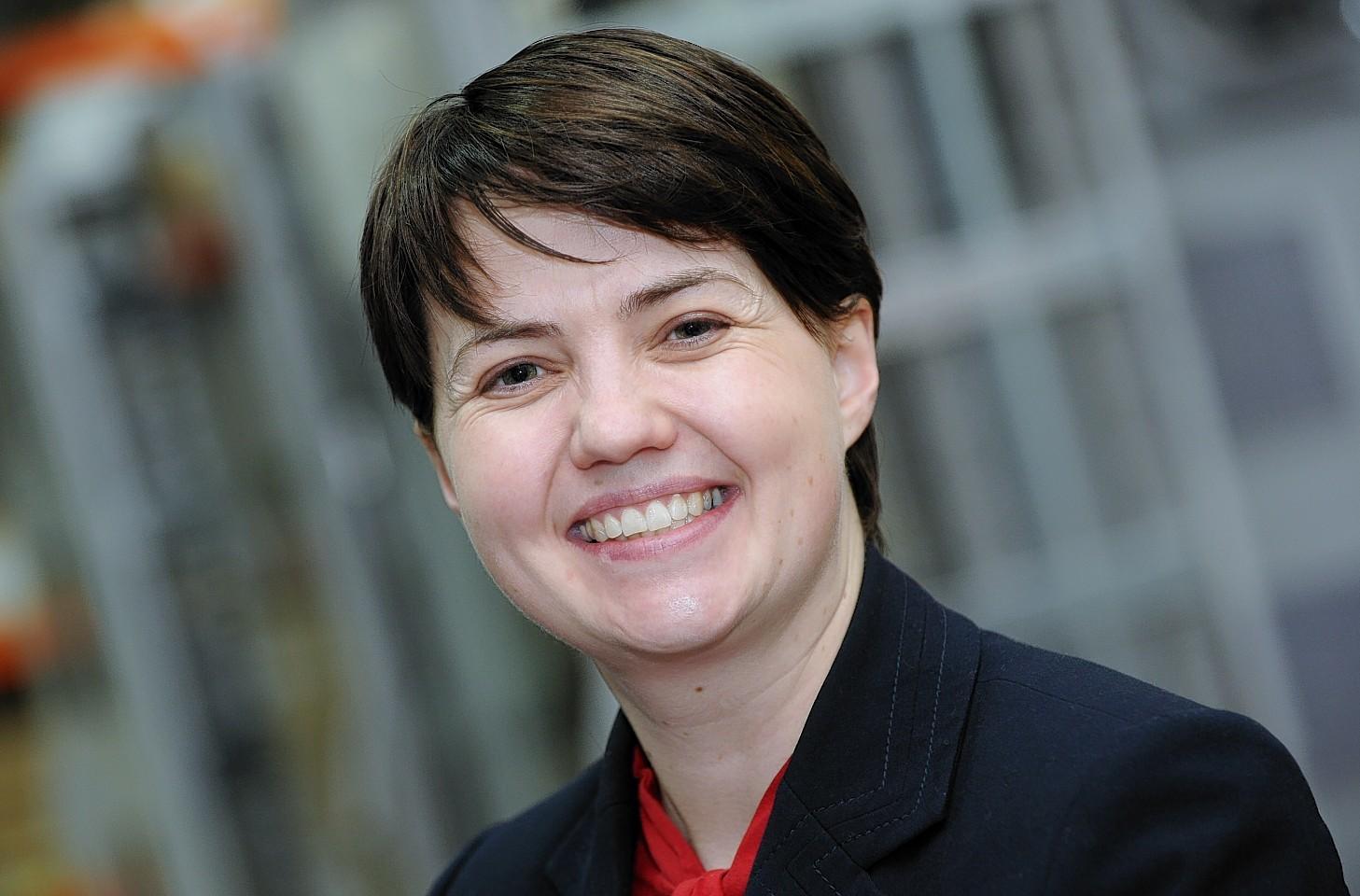 Scottish Conservatives leader Ruth Davidson