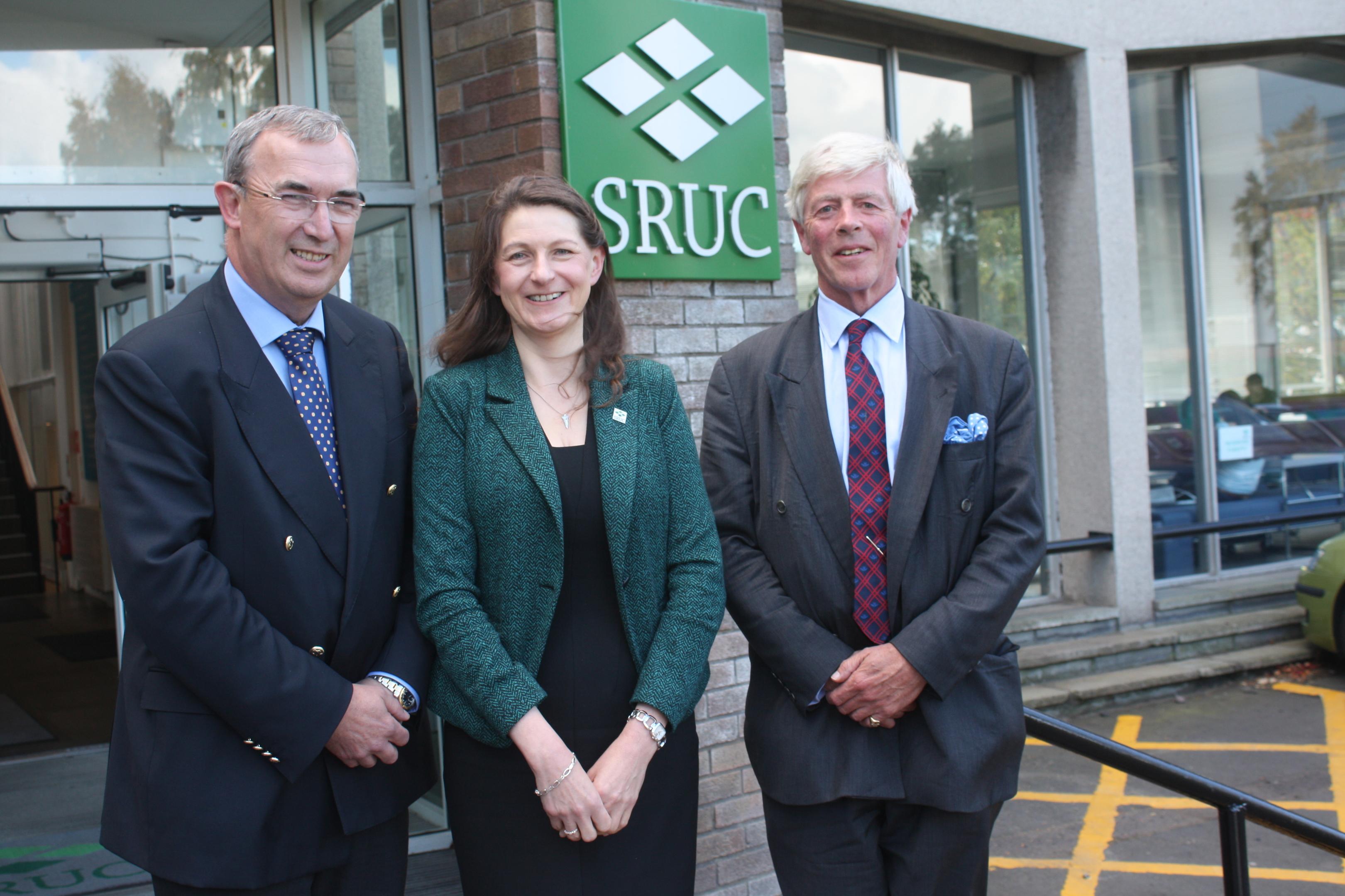 Pat Machray, Janet Swadling and Lord Jamie Lindsay