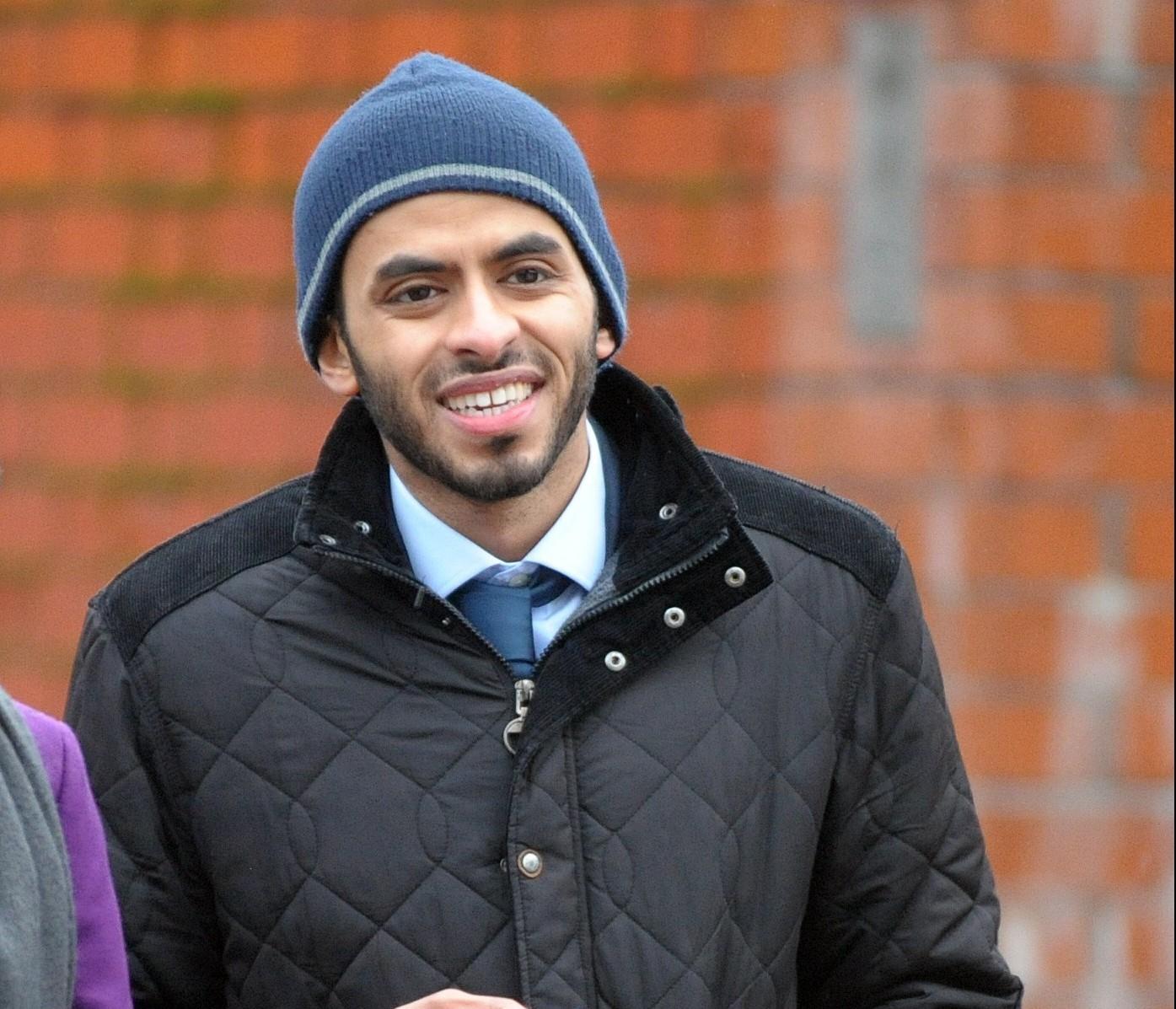 Yousif Badri at the High Court Glasgow.