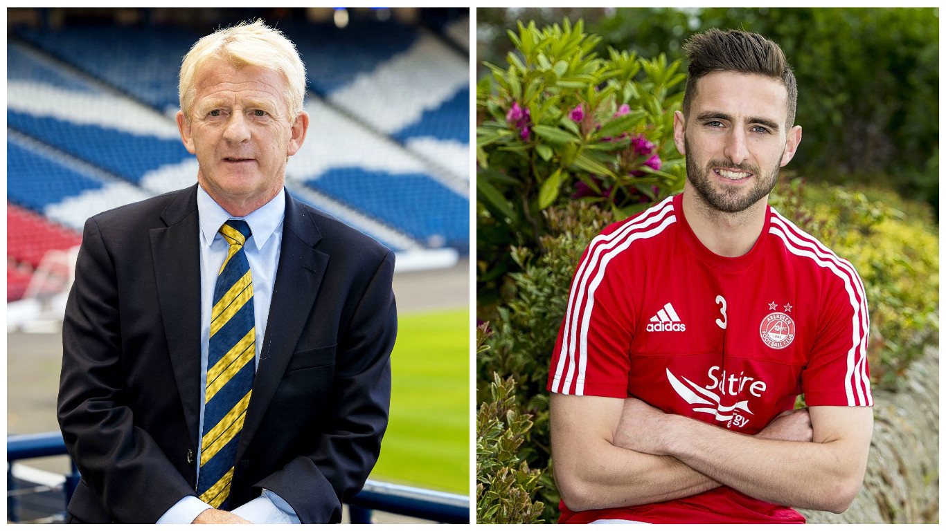 Shinnie is looking forward to the break after missing out on Gordon Strachan's squad