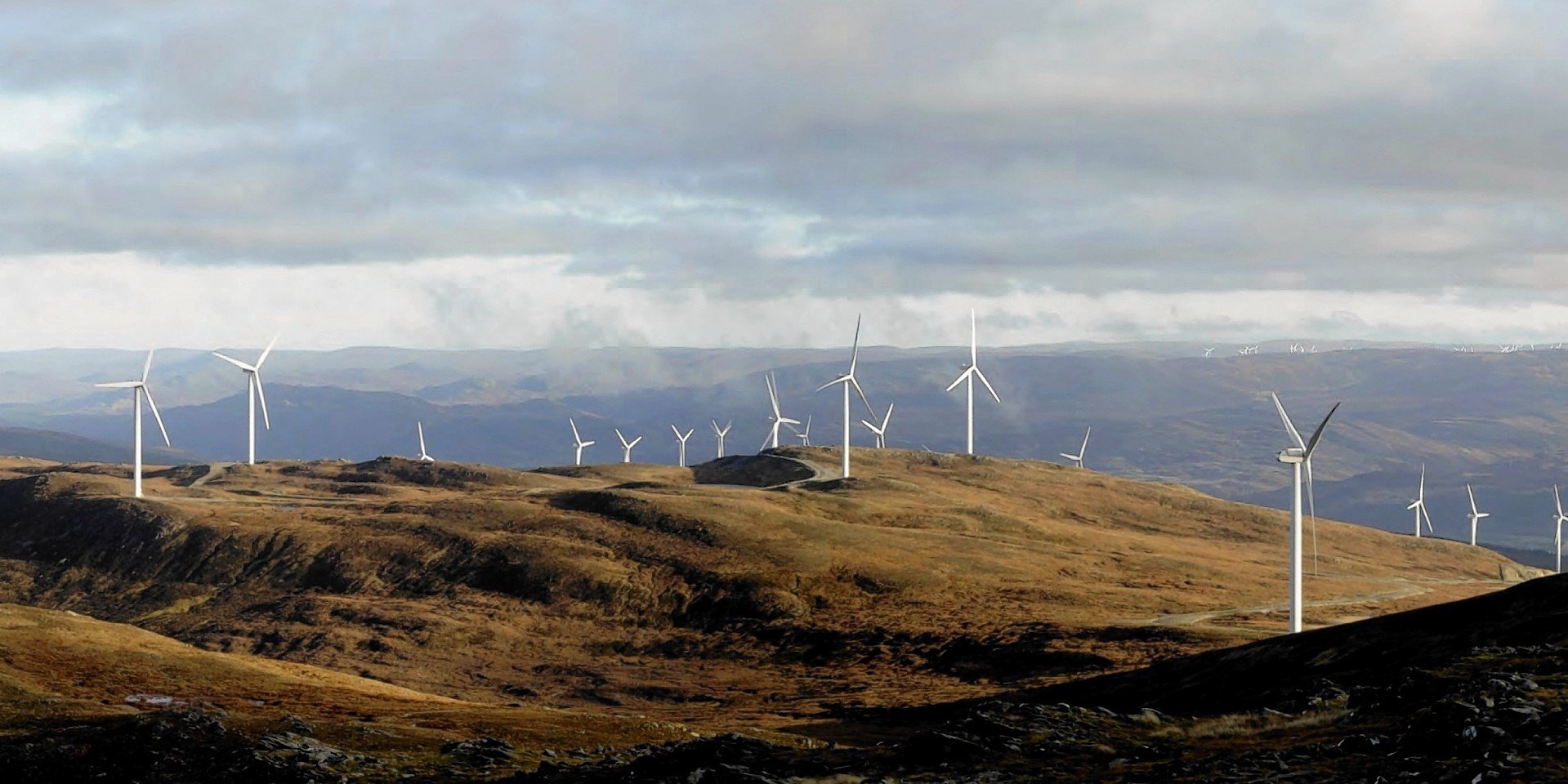 Stronelairg windfarm artist's impression from developers
