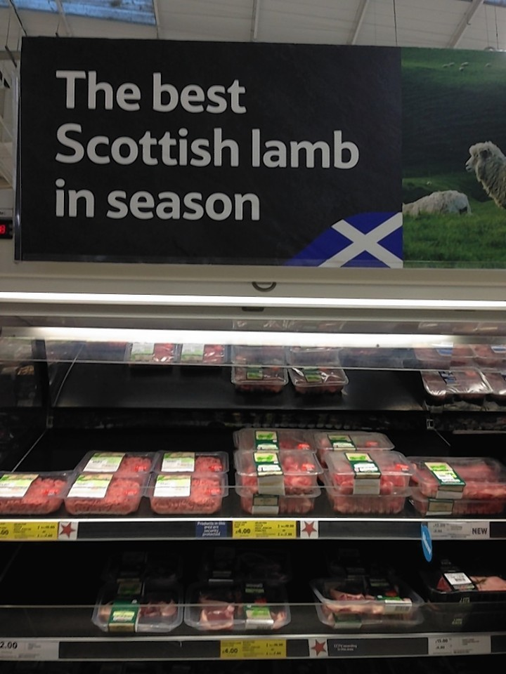 Tesco has been criticised for selling New Zealand lamb under a Scottish lamb banner