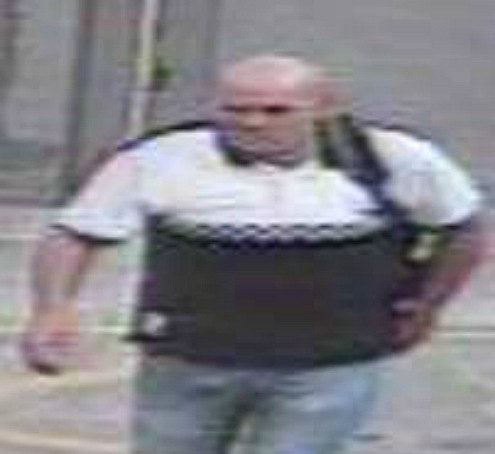 Police want to speak to this man in relation to their investigation
